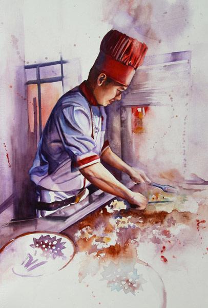 Benihana Chef