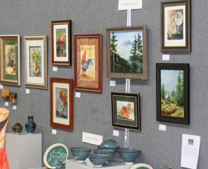 The Broadway Gallery Featured Artist Wall
