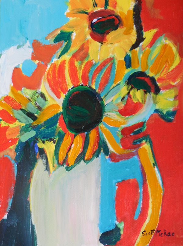 Scott McRae, Sunflower Bouquet