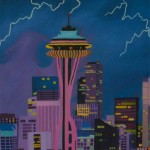 Falling from Seattle by Shawnee Chadwick