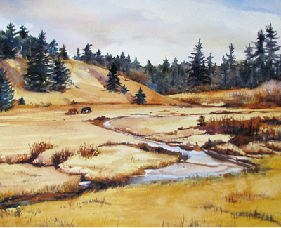 Carol Boudreau - Watercolor