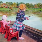 Fishing the Lake by Carol Boudreau