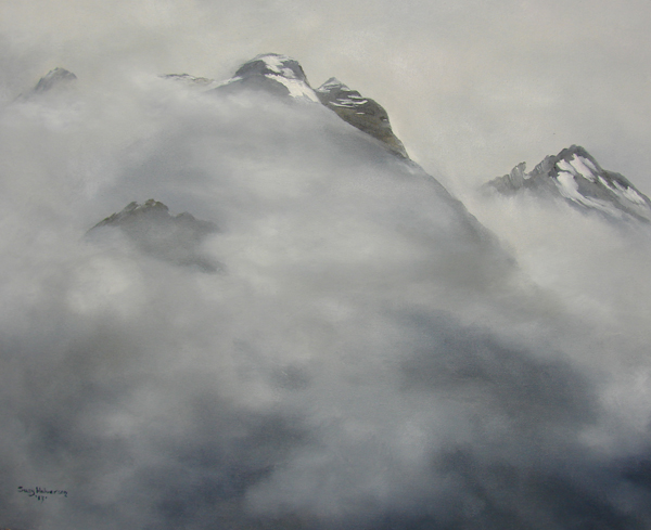 Mountains in the Fog by Susy Halverson