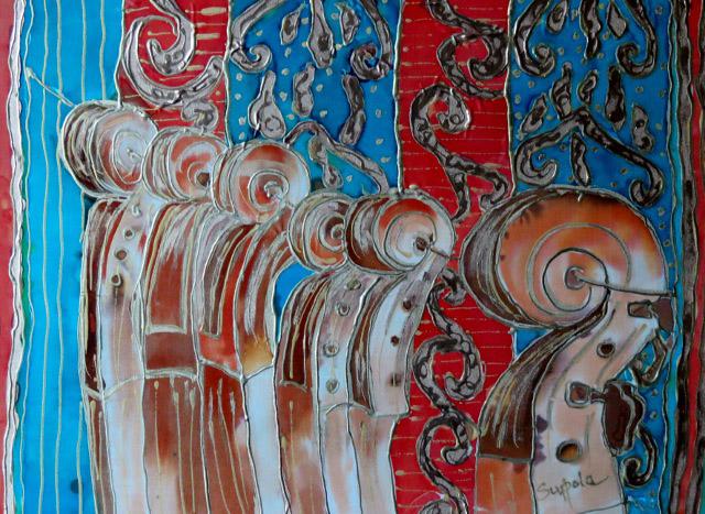 Susan Supola - Window of the Violin Maker