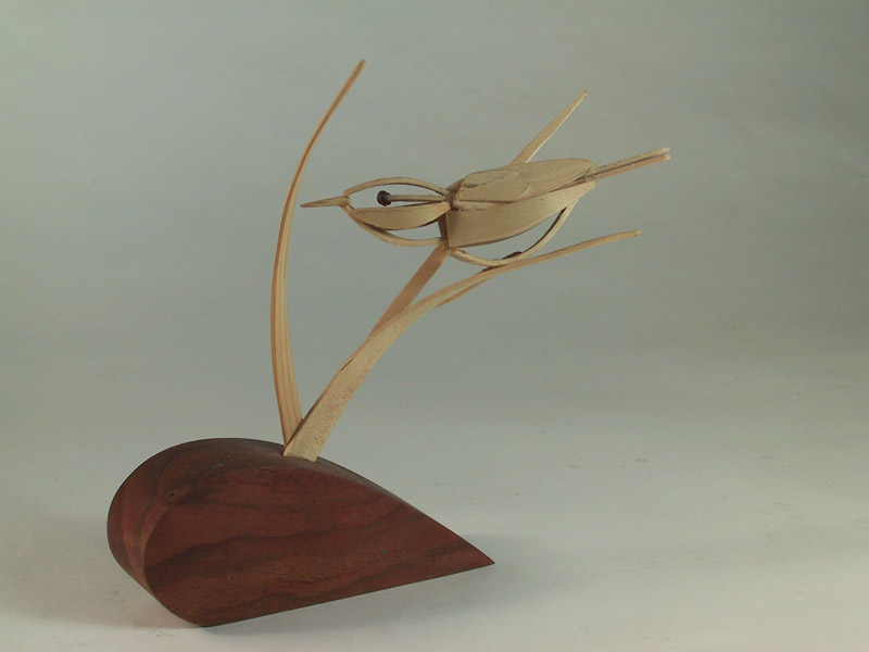 Wood carving by Byrn and JoAnne Watson