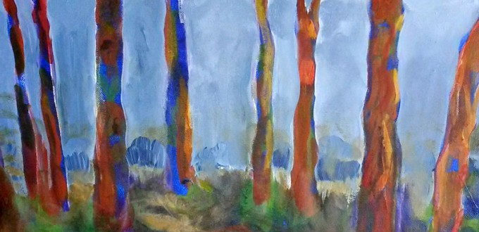 Debra Chase, Trees in Fog