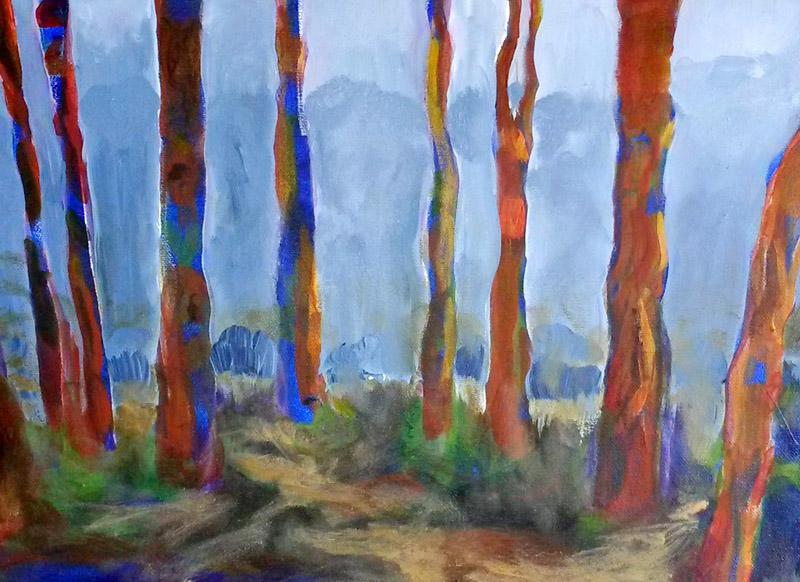 Debra Chase, Trees in Fog