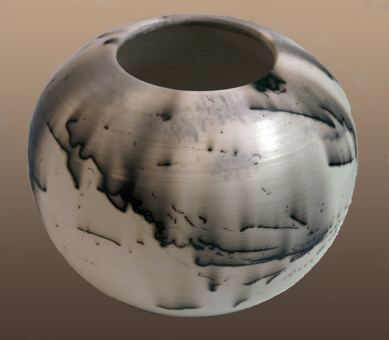 Trudy Woods, Horsehair Pottery