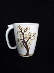 Mug with Cherry Tree