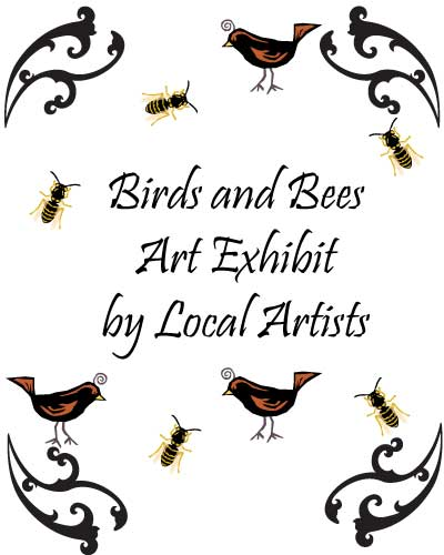 poster for birds and bees show