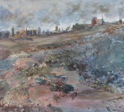 image of damaged land