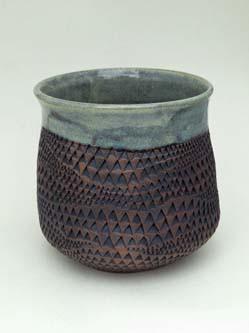 vase with random pattern