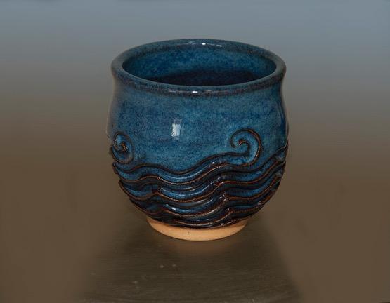 patterned pottery