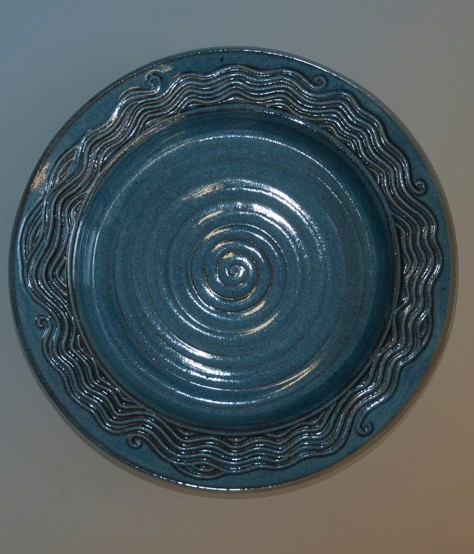clay plate