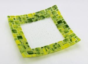 green squared border