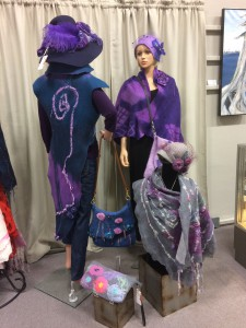 Mannequins in full dress