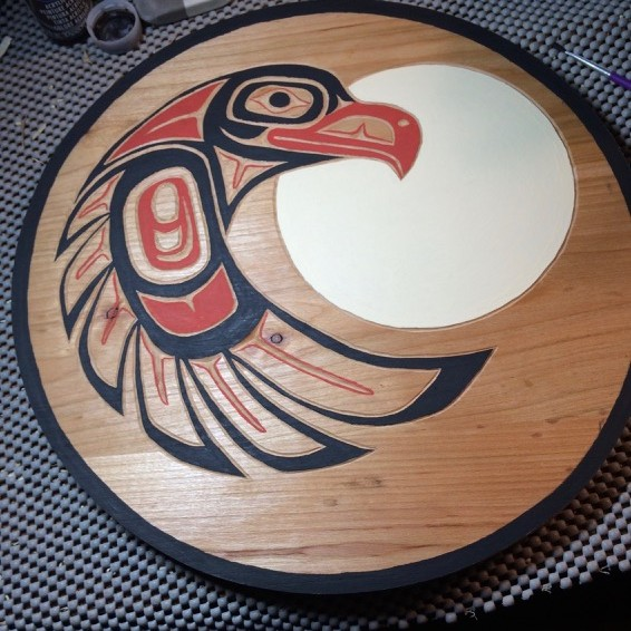 eagle in nw indian design