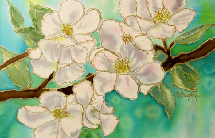 dogwood like blossoms