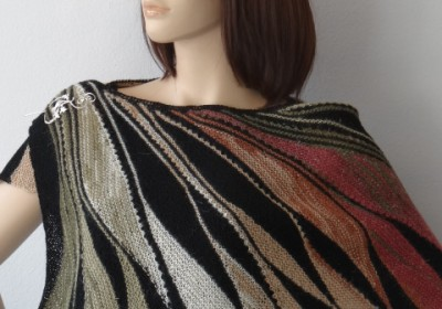 fall colored stole