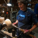 artist wood turning
