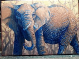 Full view of an elephant