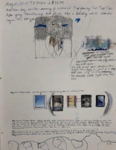 various small and medium sketches