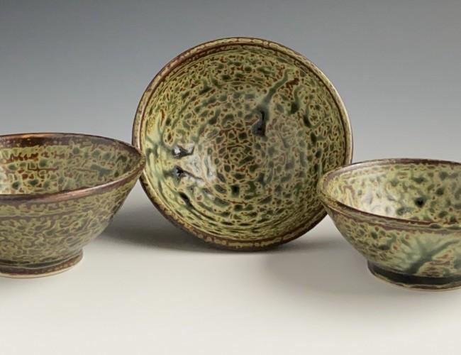 gray-green trio set