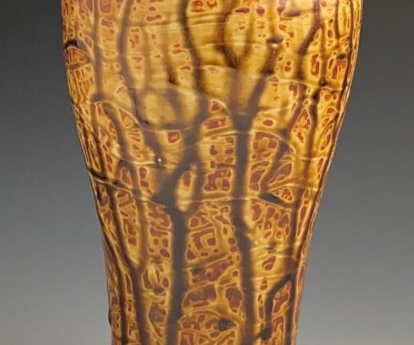 large earthtone vase